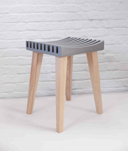 Kontur Wooden Stool - kitchen