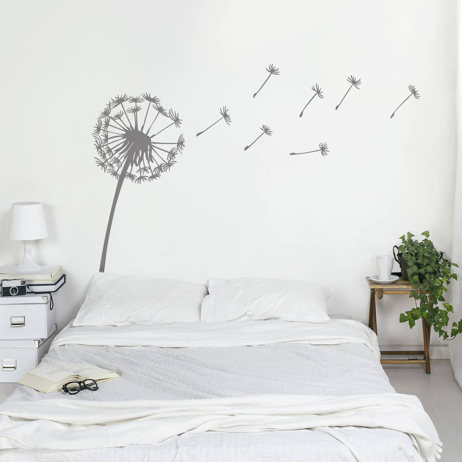 Dandelion wall sticker by oakdene designs notonthehighstreet wall sticker amipublicfo Images