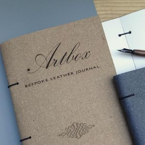 Bespoke Leather Journal