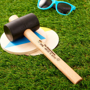 Personalised Camping Mallet - 50th birthday gifts