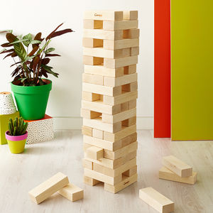 Garden Tumble Tower - outdoor toys & games