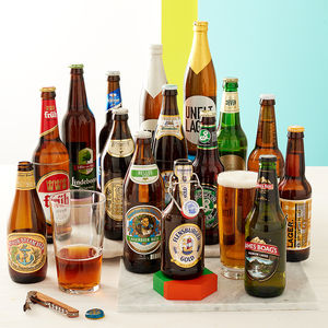 15 Award Winning World Lagers -  gifts for him