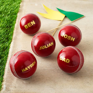 Personalised Cricket Ball - view all father's day gifts