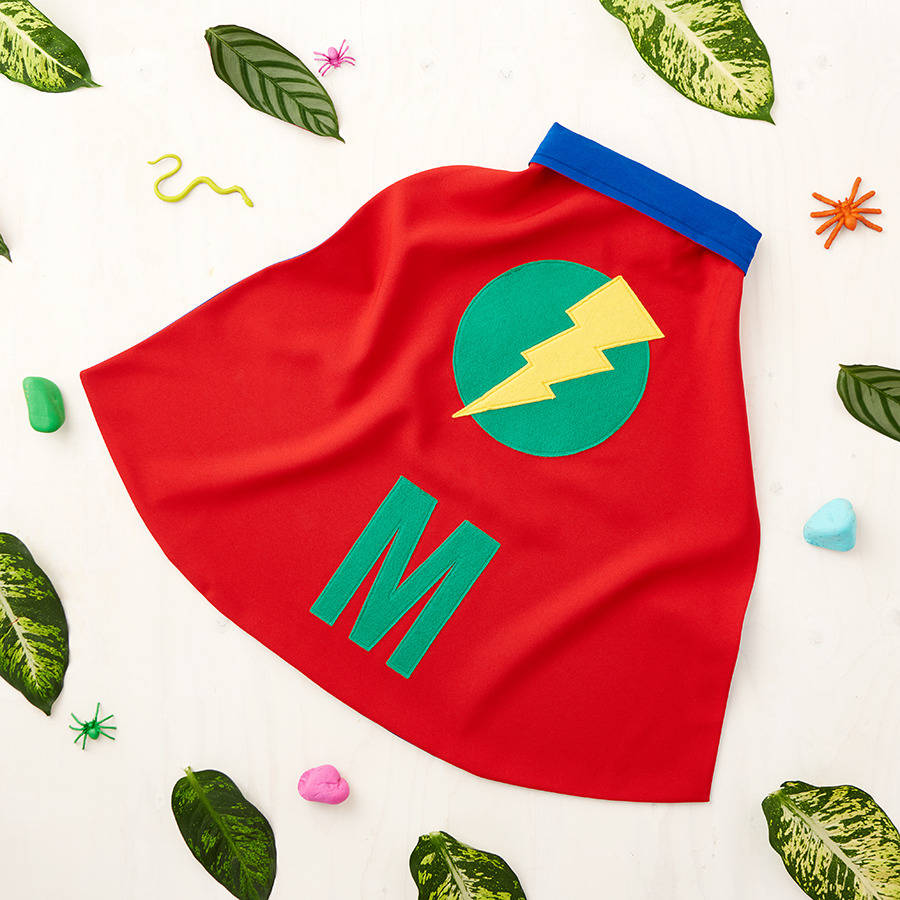 children s personalised dressing up cape by red berry apple