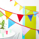 Carnival Cotton Bunting