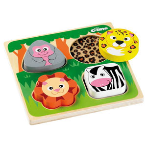 First Touch And Feel Puzzle - educational toys