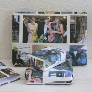 Personalised Photo Wrapping Paper - personalised
