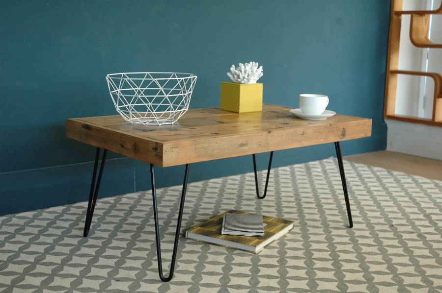 Amazing Billy Coffee Table With Hairpin Legs