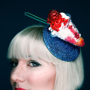 Screwball Icecream Fascinator