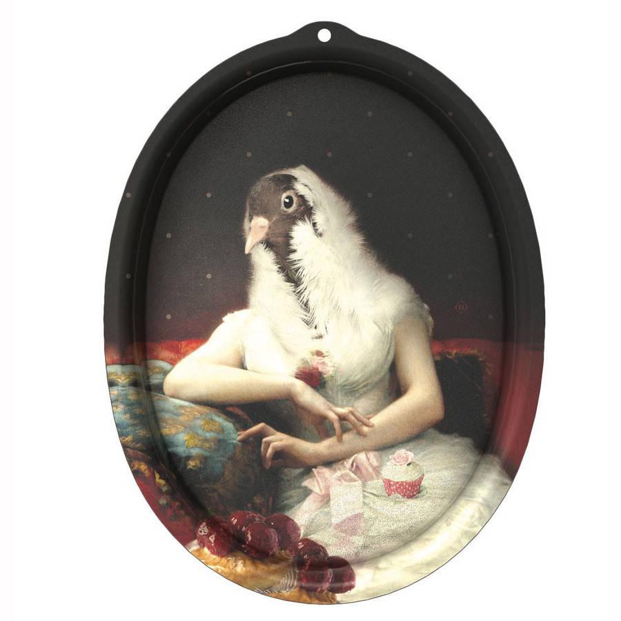 Galerie De Portraits Oval Tray Rosita