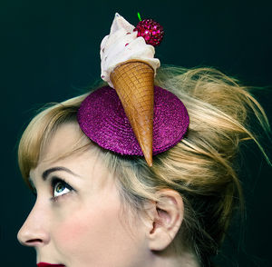Ice Cream Fascinator - head pieces