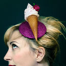 Ice Cream Fascinator
