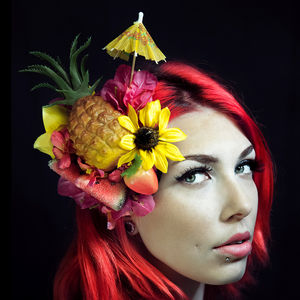 Pineapple Fruit Fascinator