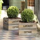 Personalised Square Planter Crate