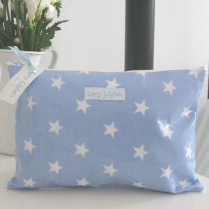 Oilcloth Personalised Cosmetic Bag - make-up & wash bags