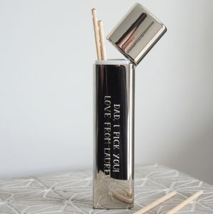 Personalised Dads Tooth Pick Holder