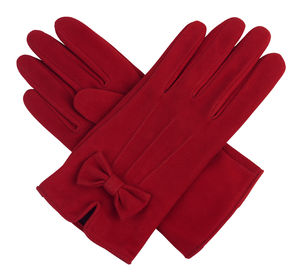 Kitty. Women's English Suede Gloves