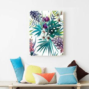 Botanical Costa Rica, Canvas Art - contemporary art