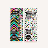 Neon Geo Nail Wraps - health & beauty