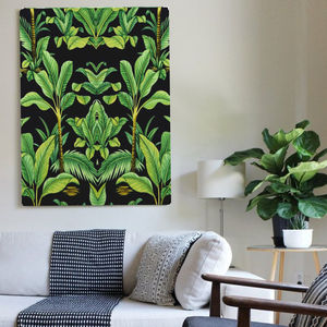 Botanical Deco, Canvas Art - canvas prints & art