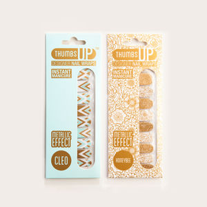 Deco Duo Nail Wraps - nail care
