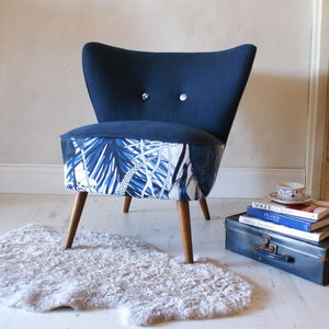 Vintage 1950s Garden Cocktail Chair - office & study