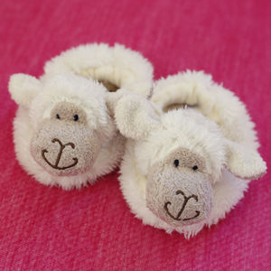 Baby Lamb Slippers - clothing