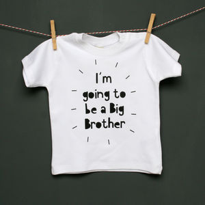 Personalised Toddler Announcement T Shirt - babies' tops