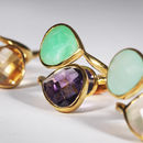 Duo Gold Ring - jewellery