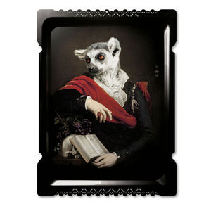 Galerie De Portraits Large Rectangular Tray Edmond