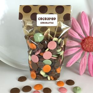 200g Chocolate Drops In Lots Of Flavours - novelty chocolates