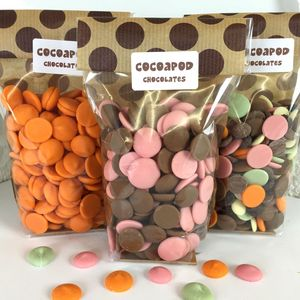 200g Chocolate Drops In Lots Of Flavours - favours for children