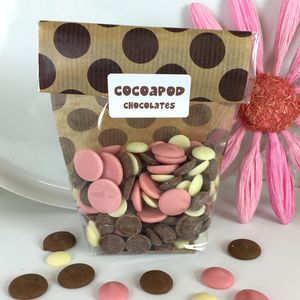 100g Chocolate Drops In Lots Of Flavours - wedding favours
