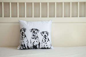 Dalmatian Dogs Cushion Cover