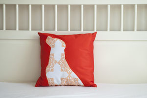 Labrador Dog Cushion Cover - soft furnishings & accessories