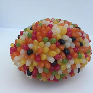 Jelly Bean Rugby Ball