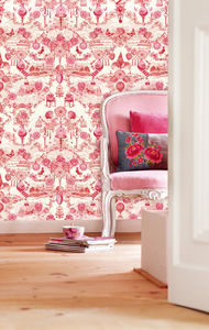 Pip De Jouy Wallpower - home decorating