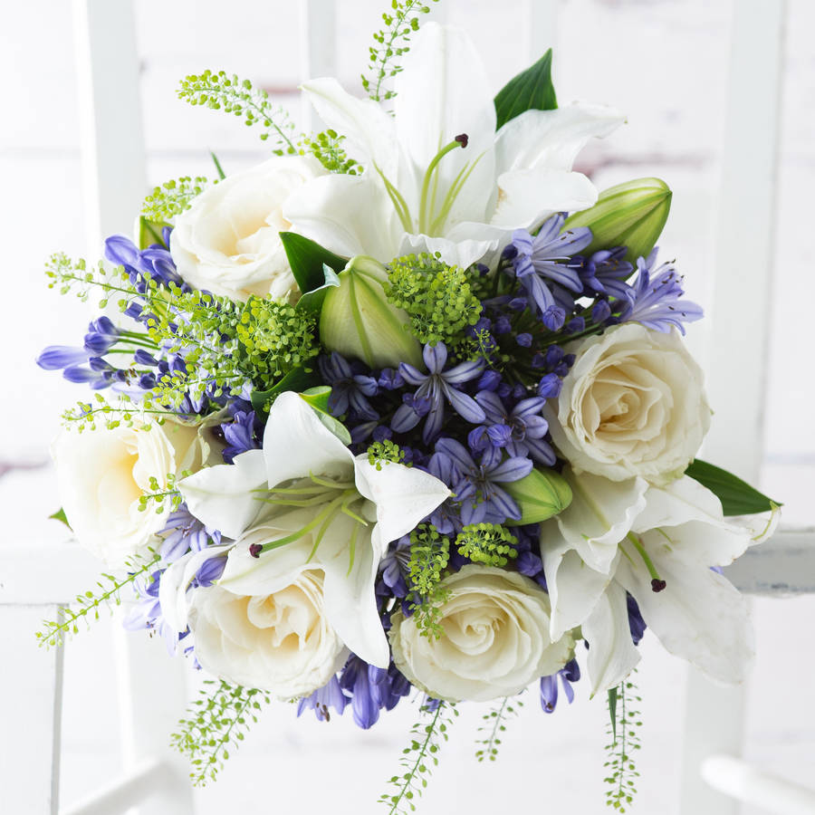 bluebell fresh flowers bouquet by appleyard london ...