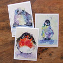 Greeting Cards, Winter Animal Card Selection
