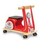 Wooden Jamm Scoot Racing Red