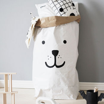 Bear Paper Storage Bag