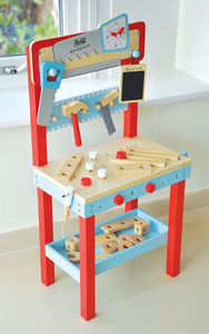Little Carpenters Workbench - traditional toys & games