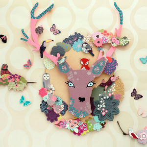 Mon Petit Art Paper Craft Kit 'Animal Fantasy' - crafts & creative gifts