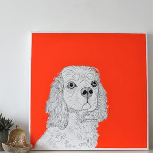 Pet Portraits On Canvas - home accessories