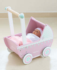 Wooden Loxhill Pram - gifts for babies & children