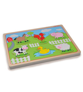 Farmyard Sound Puzzle - traditional toys & games