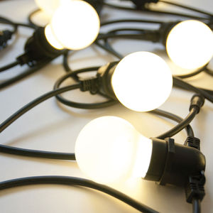Outdoor LED String Lights - lights & lanterns