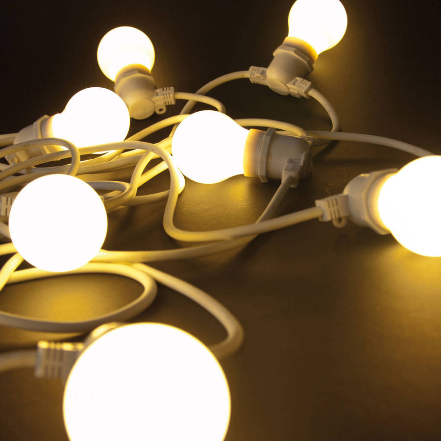 Outdoor led string lights by all things brighton beautiful outdoor led string lights workwithnaturefo