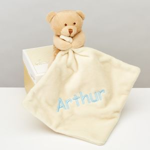 Softest Toy Bear With Comforter - baby care