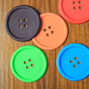 Button Coaster - dining room